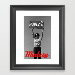 Chicana Activist Hall of Fame Framed Art Print