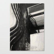 Conflicting ways Canvas Print