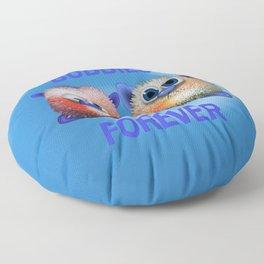 Buddies forever Floor Pillow