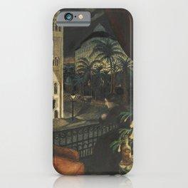 Algiers, Mediterranean Casbah Street Scene by Nikolai Astrup iPhone Case