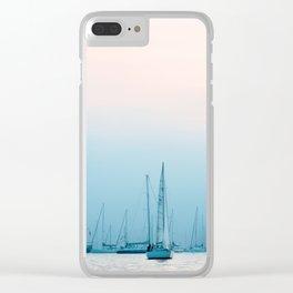 Boston Harbor Clear iPhone Case