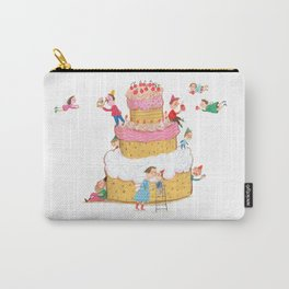 Yummy Cookie Wedding Cake Carry-All Pouch