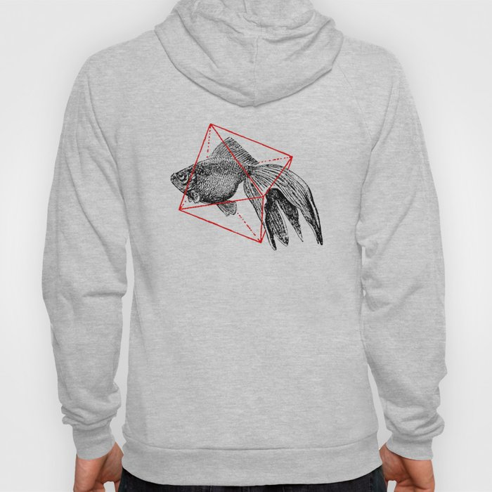 Fish In Geometrics III Hoody