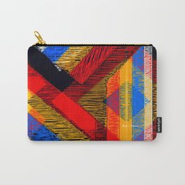 Tangled Maze Carry-All Pouch