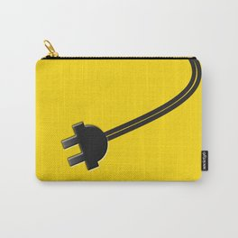 Yellow Power Cord Carry-All Pouch