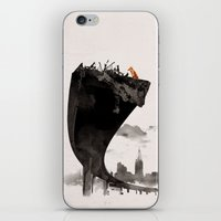 the last of us iPhone & iPod Skins featuring The Last of Us by Robert Farkas