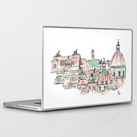 rome Laptop & iPad Skins featuring Rome by Ursula Rodgers