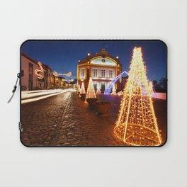 Christmas in Ribeira Grande Laptop Sleeve
