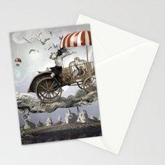 Bird Seller Stationery Cards