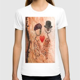Monsieur Bone in Love T-shirt