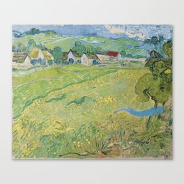 Vincent Van Gogh - Les Vessenots in Auvers Canvas Print