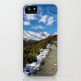 Routeburn Track iPhone Case