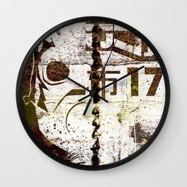City 17 Wall Clock