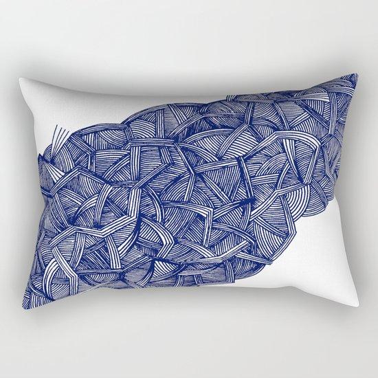 - blue lines - Rectangular Pillow