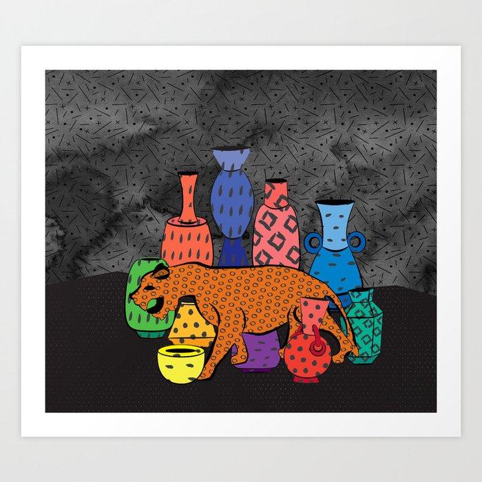 Thrift Store Finds Art Print