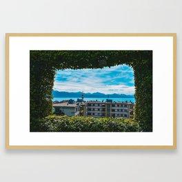 Lac Geneva Framed Art Print