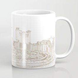 Hong Kong back street 2015 Coffee Mug