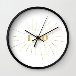 'I Do' Declare My Love For You Wall Clock