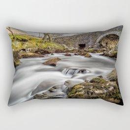 River Ogwen Bridge Rectangular Pillow
