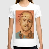 chad wys T-shirts featuring 50 Artists: Chad Beroth by Chad Beroth