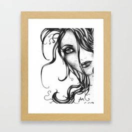 Vanishing Venus Framed Art Print
