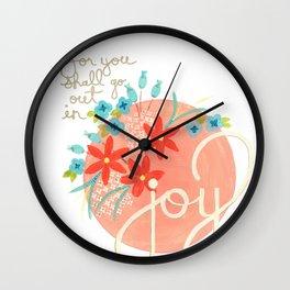 Isaiah Joy Wall Clock
