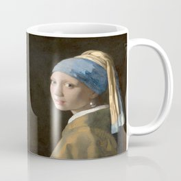 Girl with a Pearl Earring (1665), Old Masters Collection Coffee Mug
