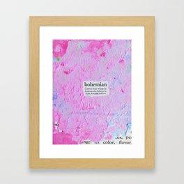 bohemian Framed Art Print
