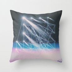 Construct Throw Pillow