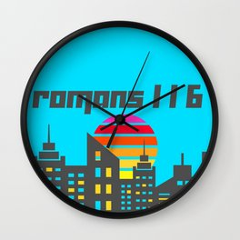 Romans 1:16 Wall Clock