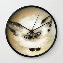 Little Fluff Wall Clock