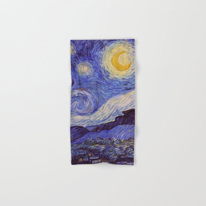 Vincent Van Gogh Starry Night Hand U0026 Bath Towel By Artgallery | Society6