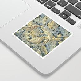 William Morris Acanthus Leaves Floral Art Nouveau Sticker
