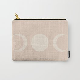 Moon Minimalism - Ethereal Light Carry-All Pouch