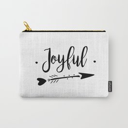 Joyful Lettering-PM coll Carry-All Pouch