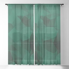 Emerald Sheer Curtain