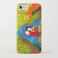 pocahontas iPhone & iPod Cases featuring Pocahontas by Sandra Nascimento
