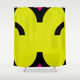 face 6 Shower Curtain