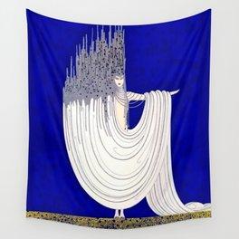 """""""North Sea"""" Art Deco Design Wall Tapestry"""