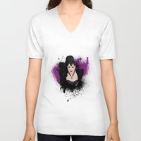 evil queen V-neck T-shirts featuring An Evil Queen by Regally Evil