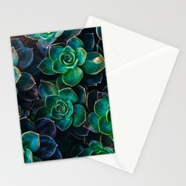 Succulent fantasy Stationery Cards