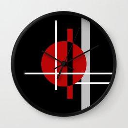 Geometric composition Wall Clock