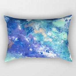Muscida I - Abstract Costellation Painting Rectangular Pillow