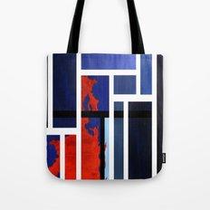 Blue Me Orange Tote Bag