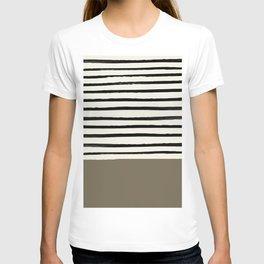 Cappuccino x Stripes T-shirt