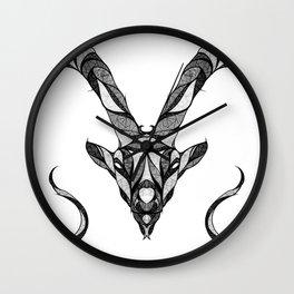 Signs of the Zodiac - Capricornus Wall Clock