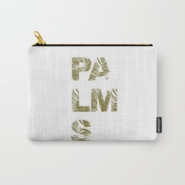 Palms Typo  #society6 #decor #buyart Carry-All Pouch