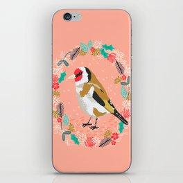 European goldfinch by Andrea Lauren  iPhone Skin