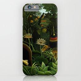 Henri Rousseau The Dream Painting iPhone Case
