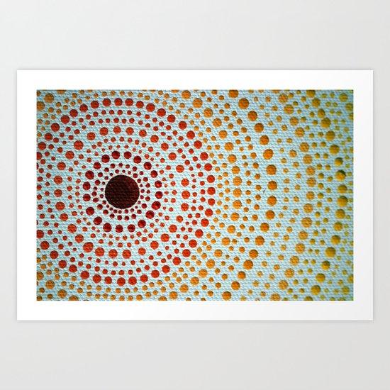 manDOTla Art Print